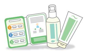 抗生物質の内服と、カビとり歯磨剤での歯磨き
